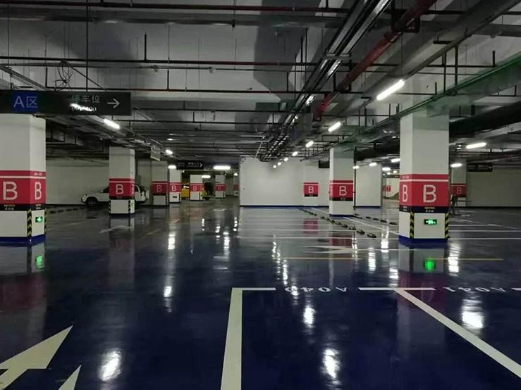 地下停车场交通设施安装
