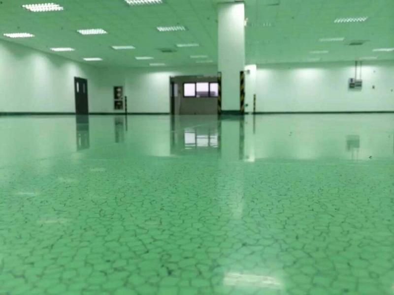 PVC导防静电地板