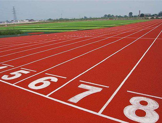 硅PU球场施工告诉你什么是混合型塑胶跑道?