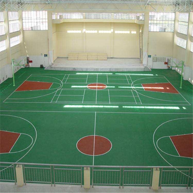 硅PU球场施工厂家为您分享密封固化剂地坪有哪些优势?