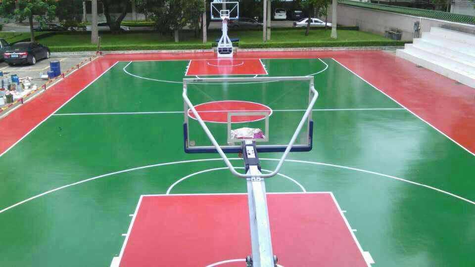 篮球场施工一般都会用什么材料?